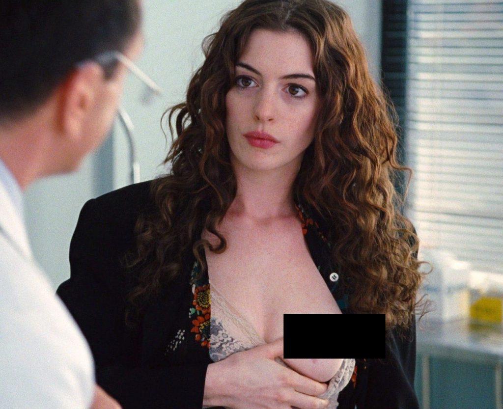 Хакеры опубликовали обнаженные фото актрисы! энн хэтэуэй слили