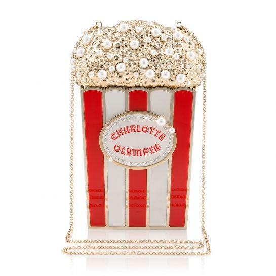 Charlotte Olympia Popcorn Clutch, $1825
