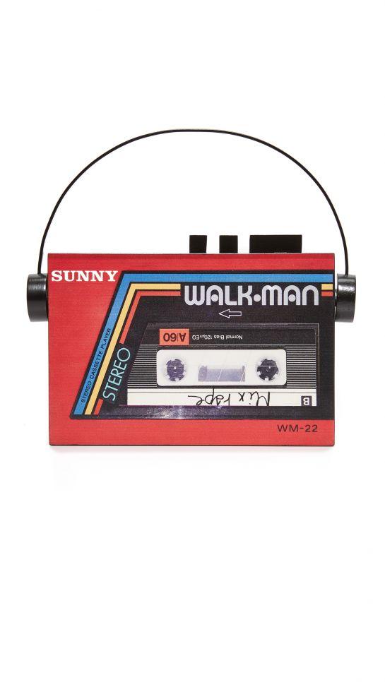 Sarah's Bag Walkman Clutch, $570