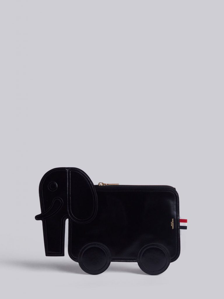 Thom Browne Elephant Clutch, $980