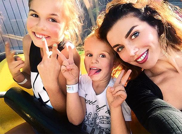 Алина, Моника и Анна