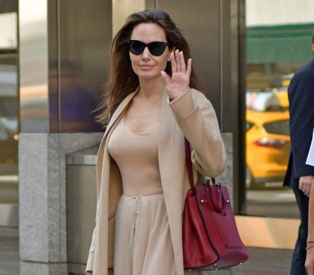 Анджелина Джоли, 14.09.2017
