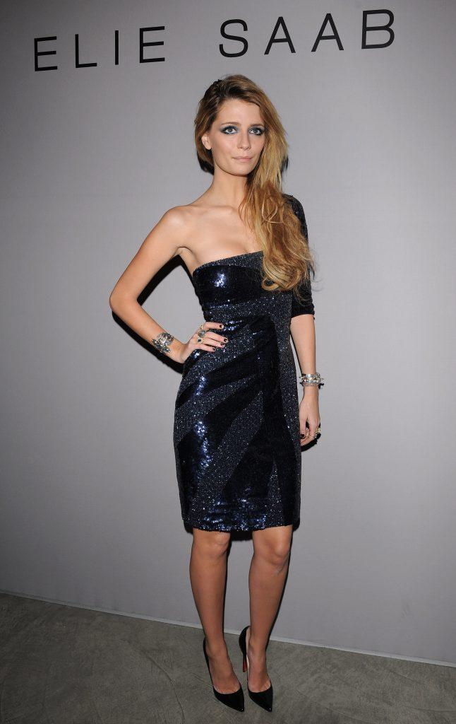 Миша на Парижской неделе моды в 2009 году