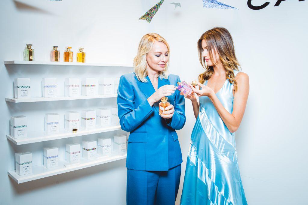 Виктория Давыдова и Валери Кауфман в украшениях  Chopard High Jewellery