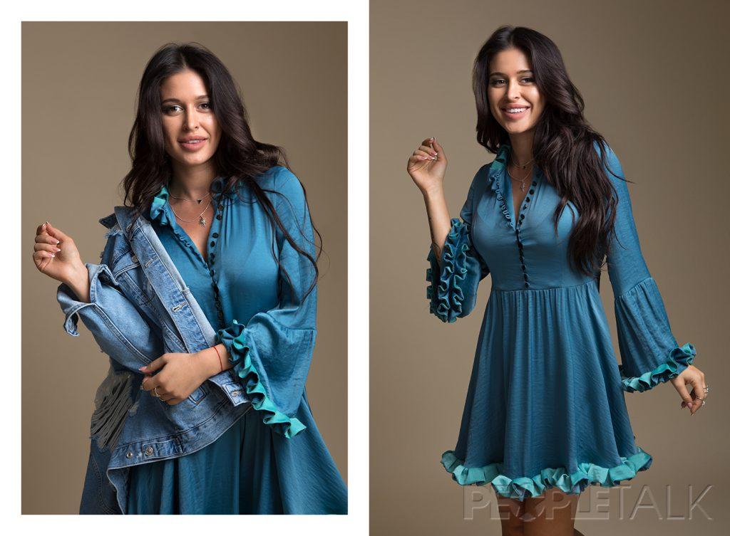 Куртка, Topshop; платье, Matrona; украшения, Aloha Gaia