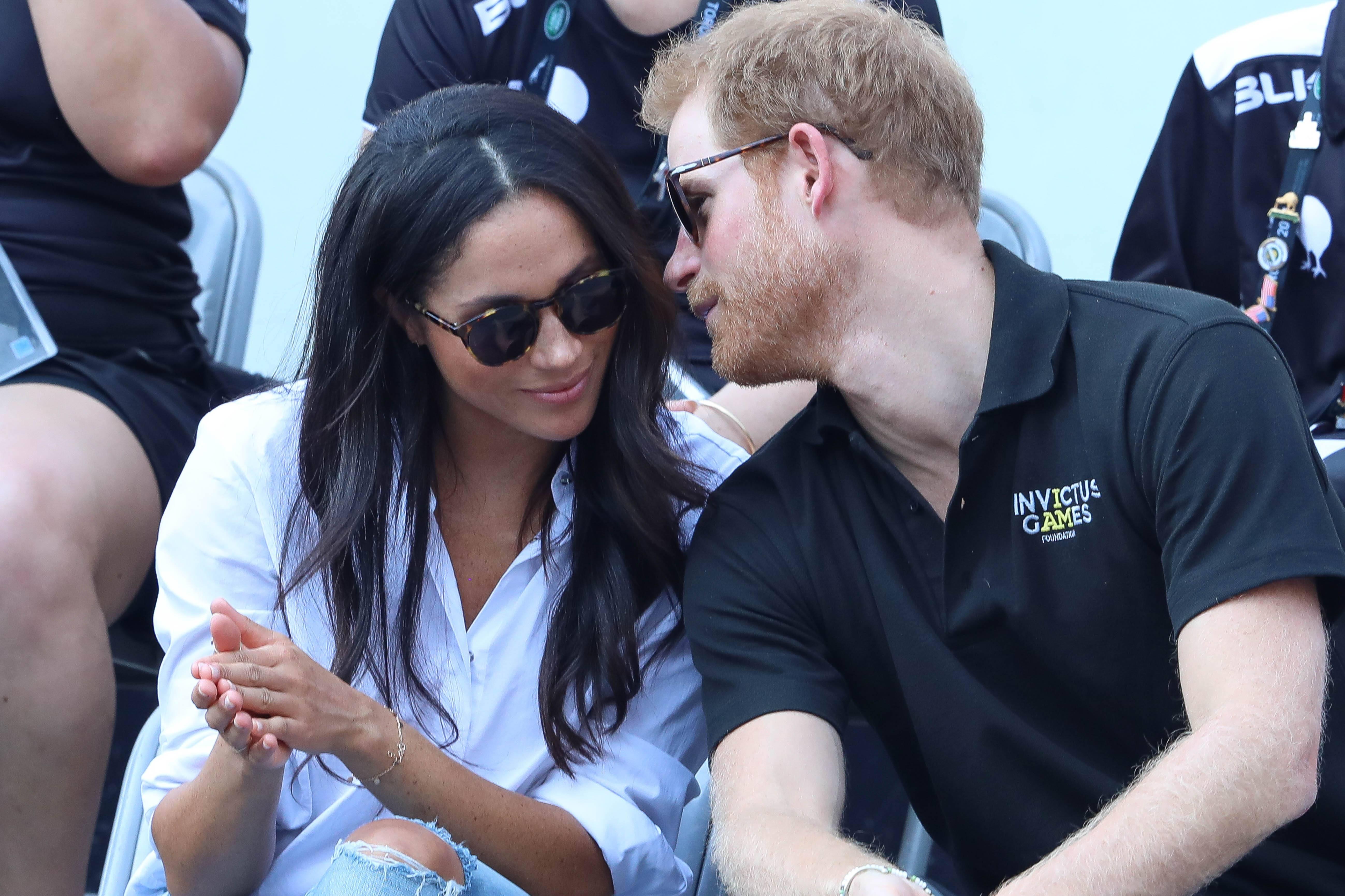 Принц Гарри и Меган Маркл в Торонто