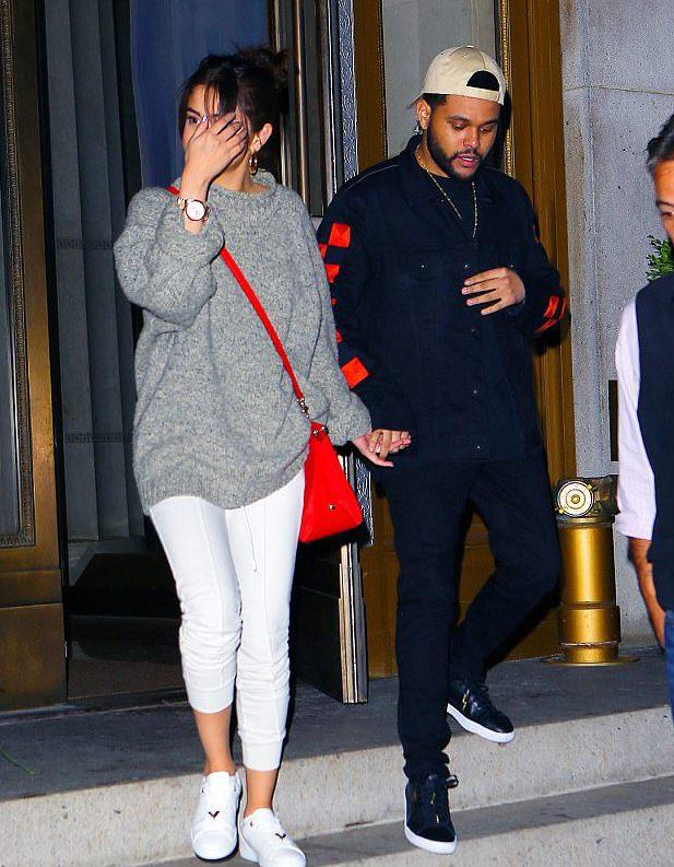 Селена Гомес и The Weeknd в Нью-Йорке, сентябрь 2017