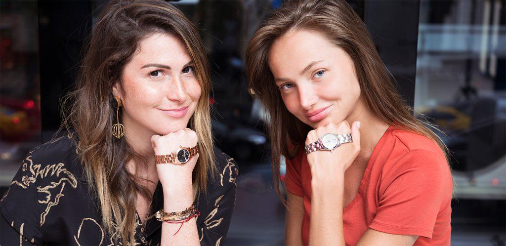 Лаура Джугелия и Александра Маркина