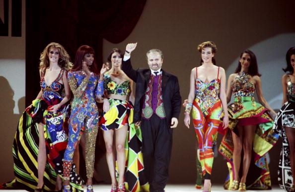 Показ Versace, 1991