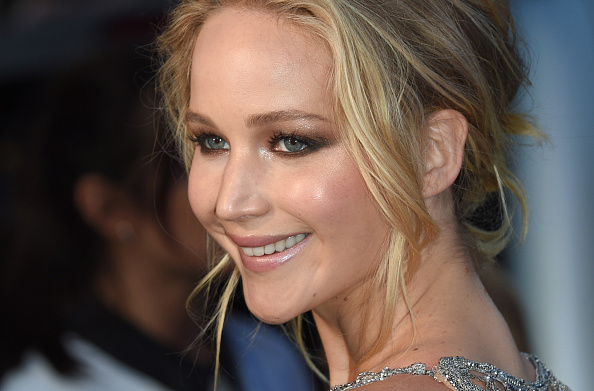 LONDON, ENGLAND - SEPTEMBER 06:  Jennifer Lawrence attends the 'Mother!' UK premiere at Odeon Leicester Square on September 6, 2017 in London, England.  (Photo by Anthony Harvey/Getty Images)