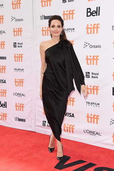 Анджелина Джоли, сентябрь 2017