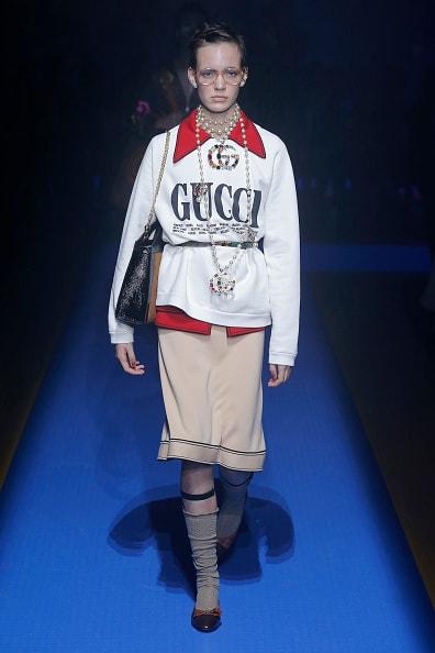 Показ Gucci