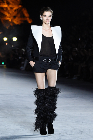 Показ Saint Laurent