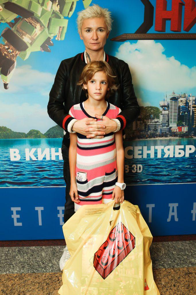 Диана Арбенина с дочерью Мартой