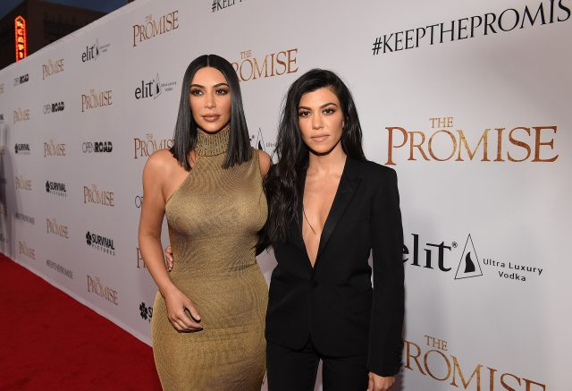 Ким и Кортни Кардашьян