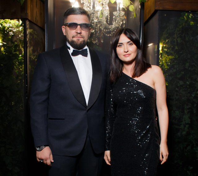 Баста с супругой Еленой на премии GQ