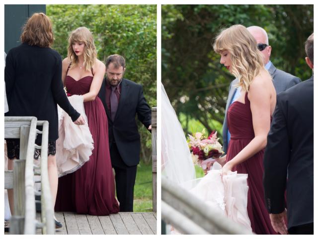 Тейлор Свифт на свадьбе подруги, 03.09.2017