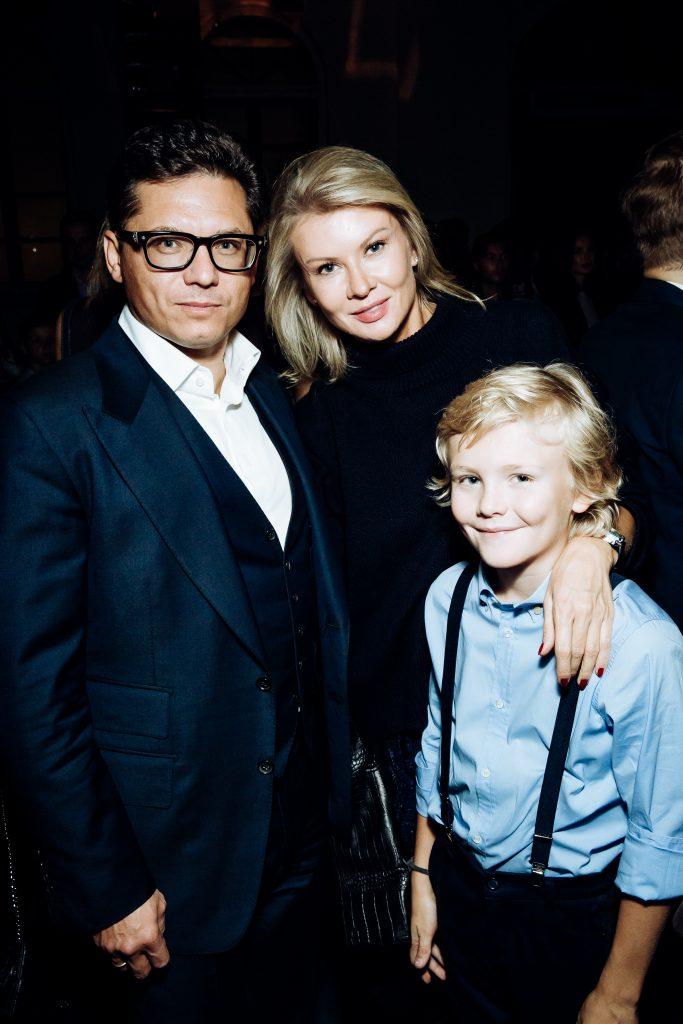 Антон и Виктория Борисевич с сыном