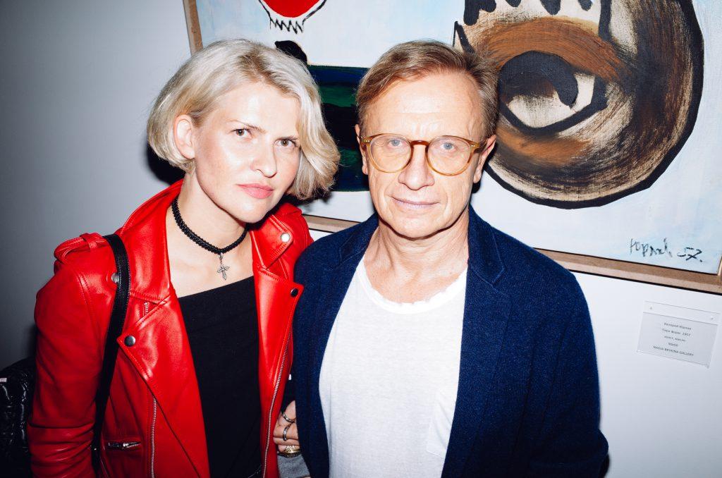 Полина Киценко и Борис Белоцерковский