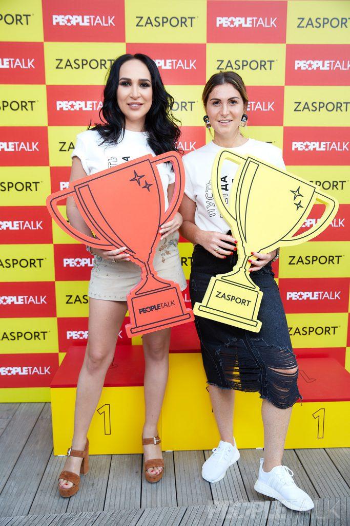 Анастасия Задорина и Лаура Джугелия