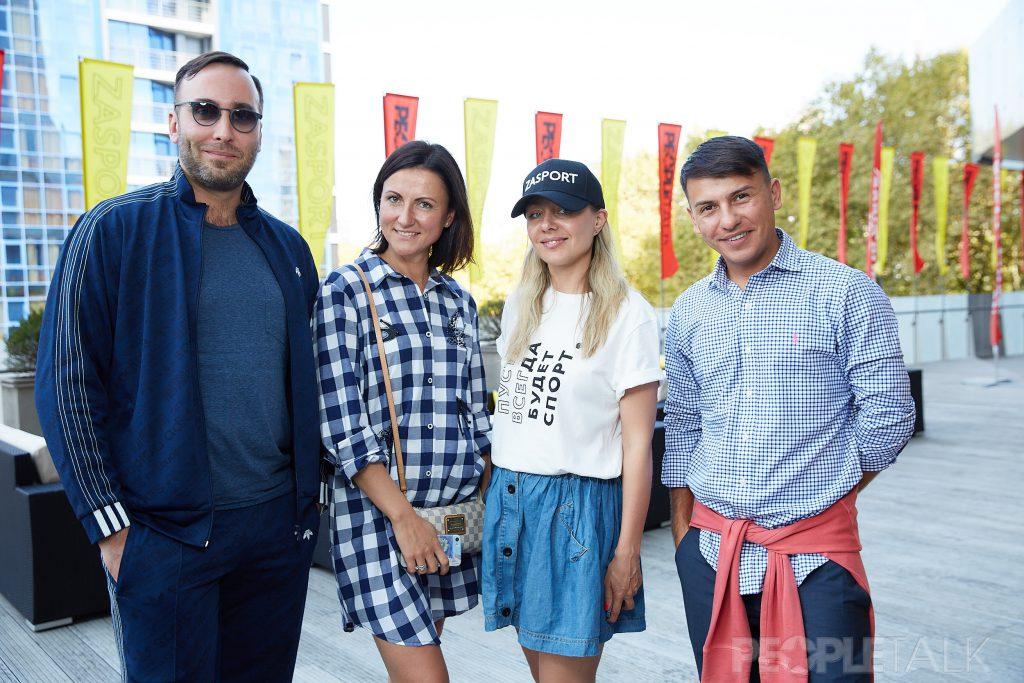 Борис Кисько, Ольга Филипенкова, Екатерина Быкова и Денис Завазальский