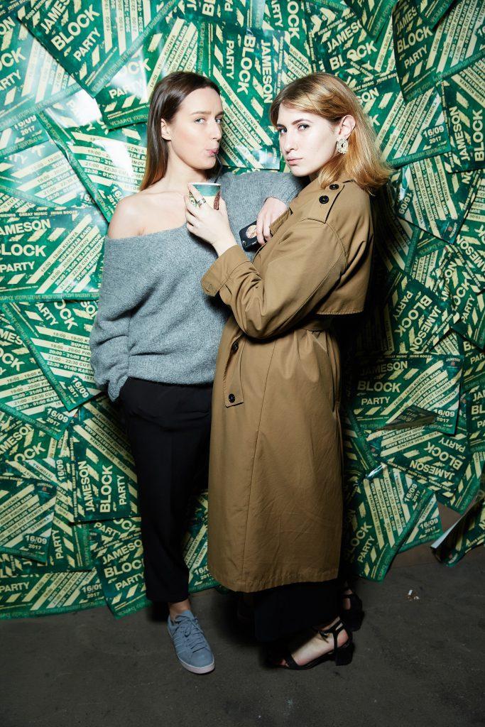 Екатерина Шкулипа и Алина Григалашвили
