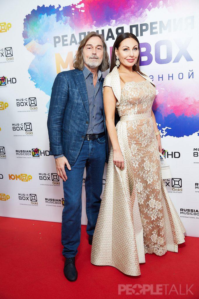 Никас Сафронов и Наталья Бочкарева