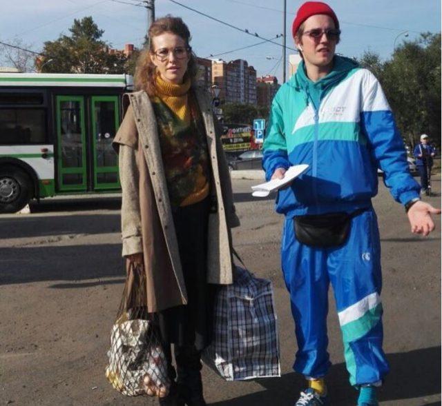 Ксения Собчак и Семен Закружный