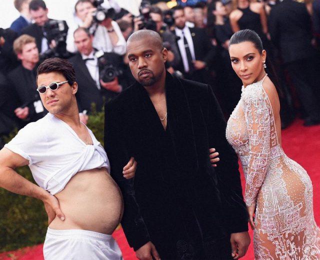 Роберт, Канье и Ким