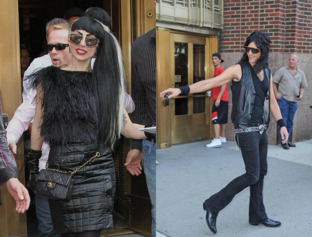 Леди Гага и Люк Карл
