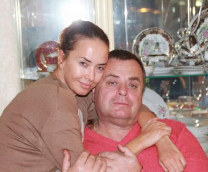 Жанна Фриске с отцом
