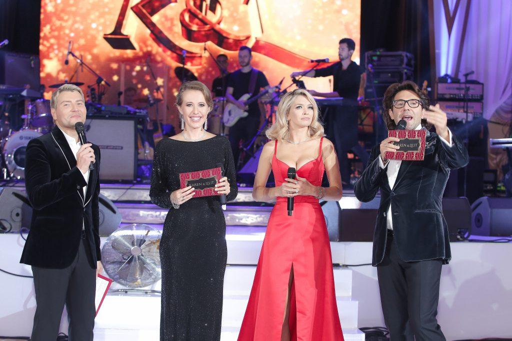 Николай Басков, Ксения Собчак, Вера Брежнева и Андрей Малахов