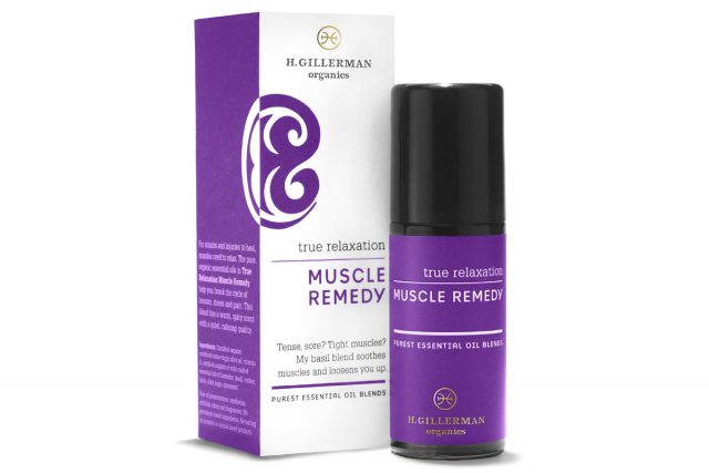 H. Gillerman Organics Muscle Remedy