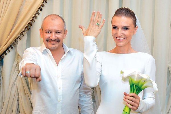 Ксения Бик и Дмитрий Марьянов