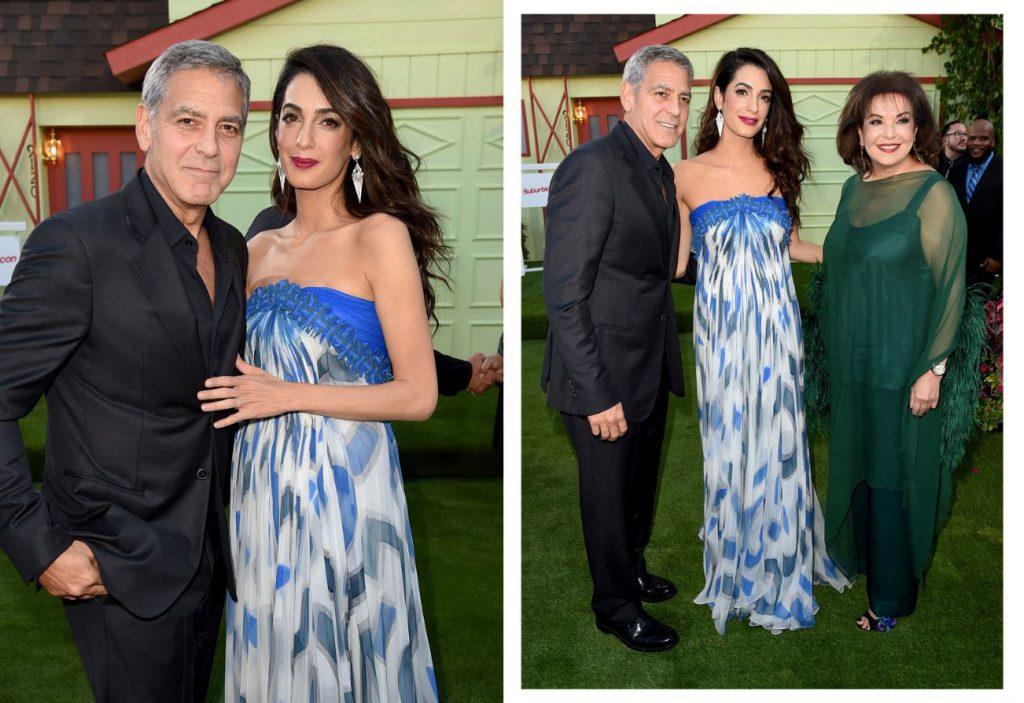Амаль и Джордж Клуни, Бария Аламуддин