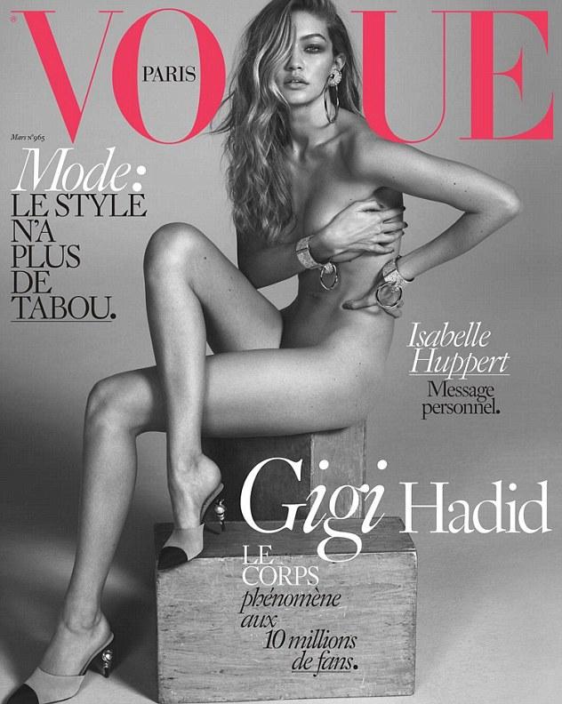 Все, что было на Джиджи, - мюли Chanel (Vogue Paris, март 2016)