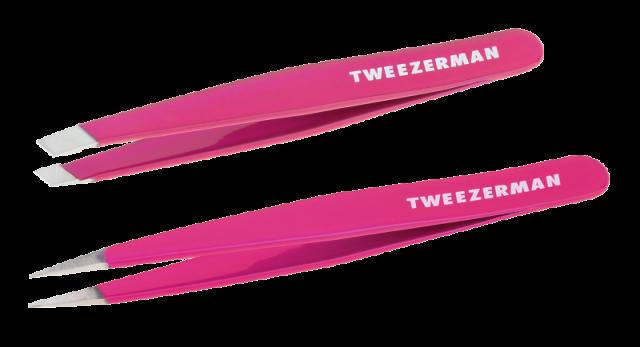 Набор скошенный и точечный пинцет, Petite Tweeze, 1402 р., StrawberryNET.com
