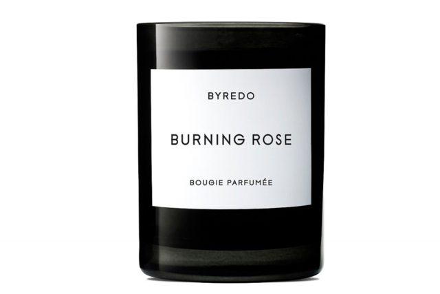 Свечи Byredo Burning Rose