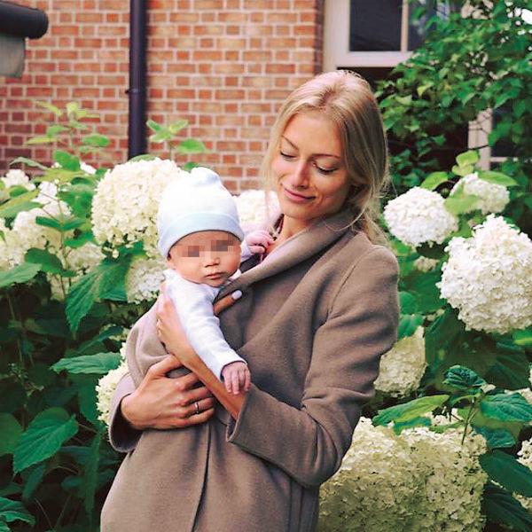 Елизавета Михалкова с сыном. Фото из личного архива