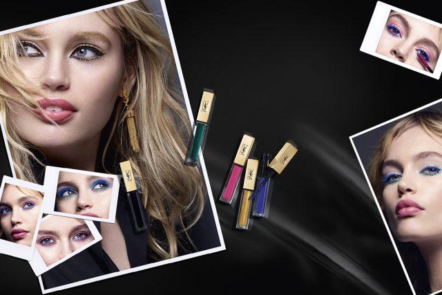 Цветная тушь Yves Saint Laurent Mascara Vunyl Couture