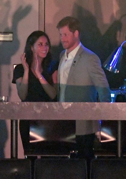 Меган Маркл и принц Гарри, 30 сентября 2017