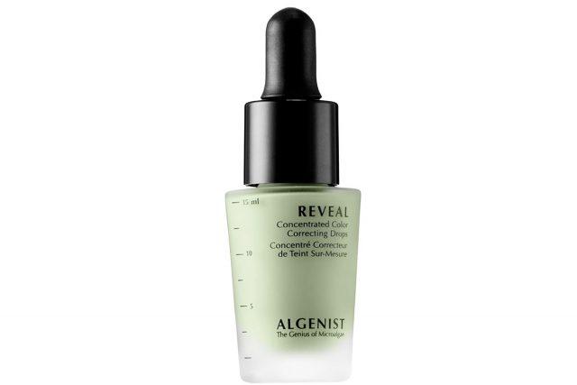 Корректор Algenist Reveal Concentrated Color Correcting Drops in Green, ок. 2800 р.. www.sephora.com