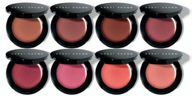 Румяна Bobbi Brown Pot Rouge in Rose, Blushed Rose and Pale Pink