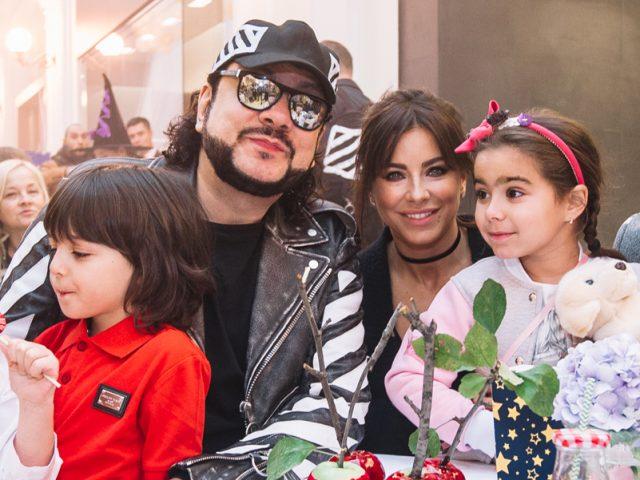 Филипп Киркоров и Ани Лорак с детьми