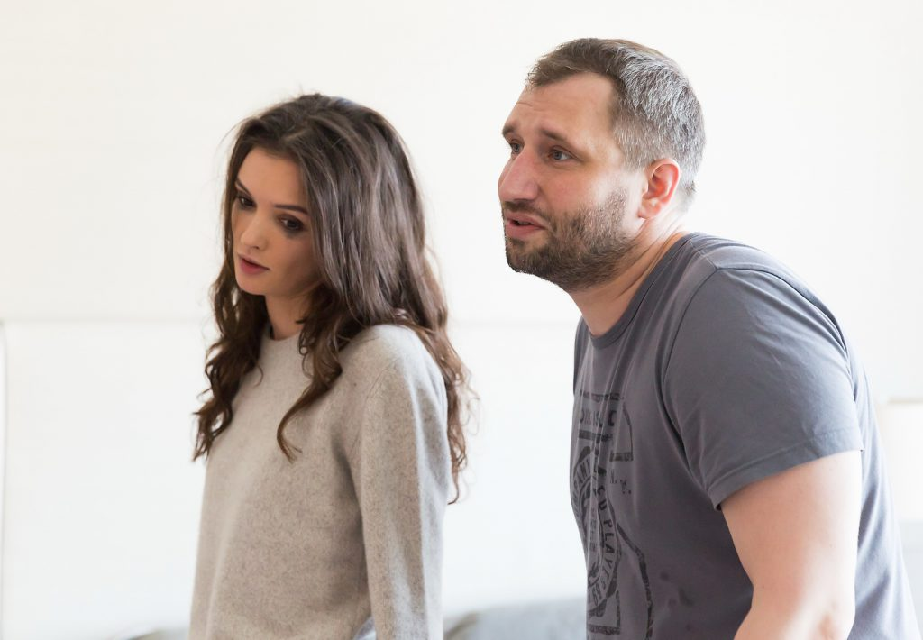 Паулина Андреева и Юрий Быков