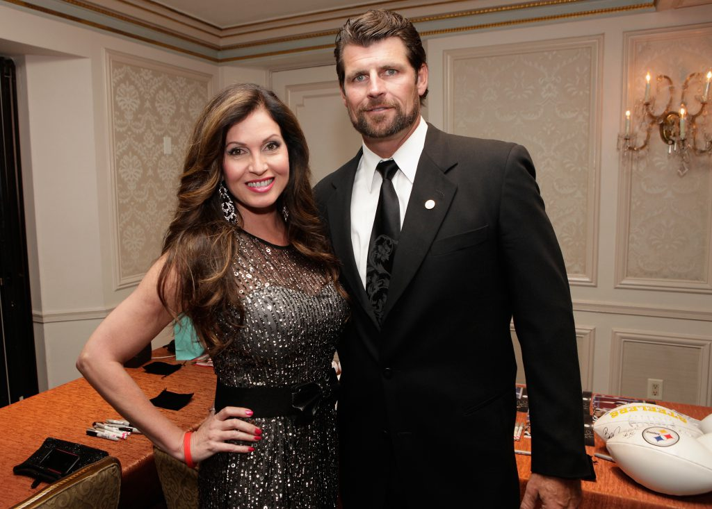 Лиза Герреро с мужем