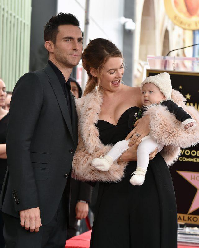 Адам и Бехати с дочкой Дасти Роуз