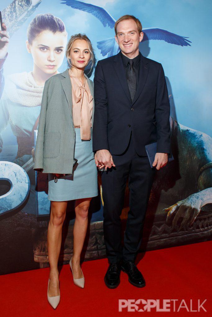 Андрей Бурковский с супргугой