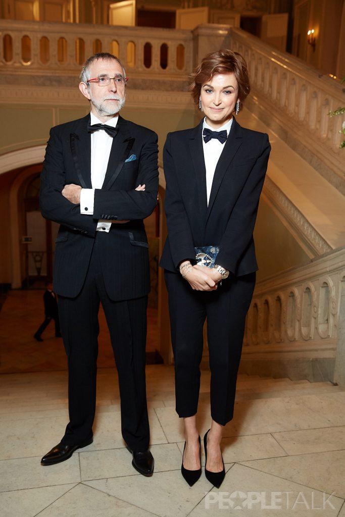 Алексей Тарханов и Карина Добротворская