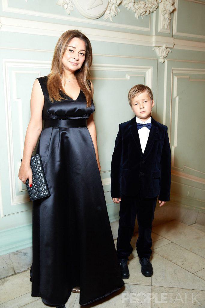 Наталья Лучанинова с сыном